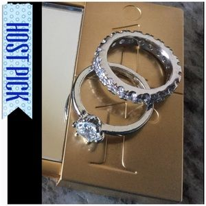 Jewelry - Double Fashion Rings Size 7